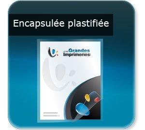 affichettes association Plastifiée / encapsulée