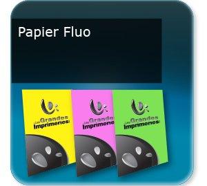 Lettre municipale flyers et bandeaux papier fluo