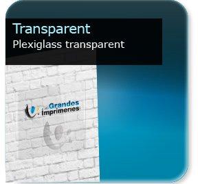 Panneaux Plexiglass transparent