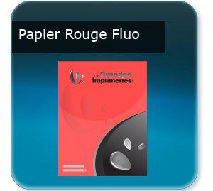 impression affiches plastique transparent Papier rouge fluo
