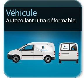 étiquette vin Autocollant pour voiture  & véhicule (spécial ultradéformable)