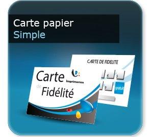 Impression Carte De Fidelite Papier A Tamponner