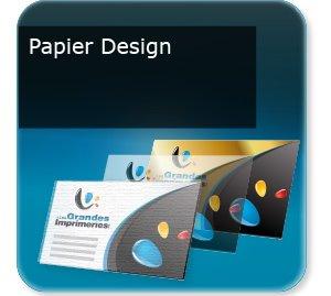 Cartes de visite Papiers de création