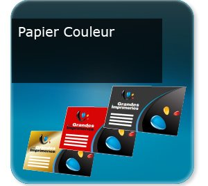 impression Cartes de visite Papier offset de couleur
