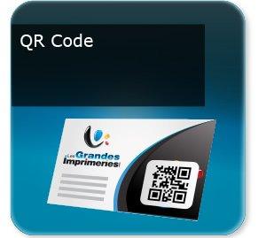 Cartes de visite Carte avec QR code