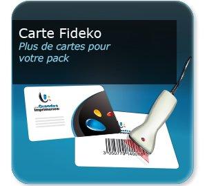 impression Carte plastique personnalisée FIDECO