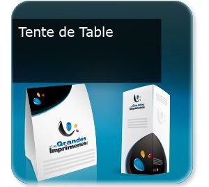 depliant modèle Tente de table