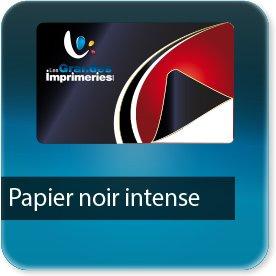 Autocollant & Étiquette Papier noir intense