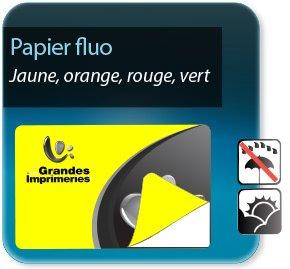 Autocollant & Étiquette Etiquette Fluo