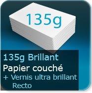 Affiches affiche avec vernis uv ultra brillant a2 420x594mm quadri recto impression - Papier couche brillant 135g ...
