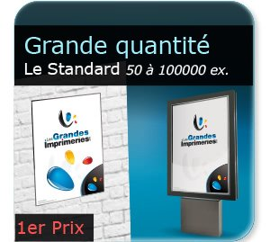 impression affiche orange Affiche Publicitaire