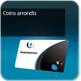 impression Cartes de visite Carte coins ronds - standard-vernis-pelliculage possible