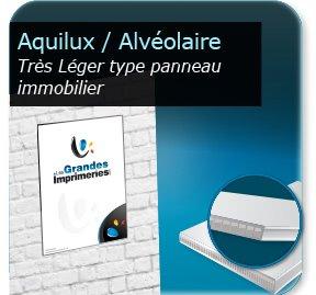 Plastique alv oraire akilux for Pancarte publicitaire exterieur