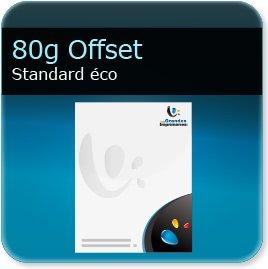 en tete model 80g Offset - Compatible imprimante laser & jet d'encre