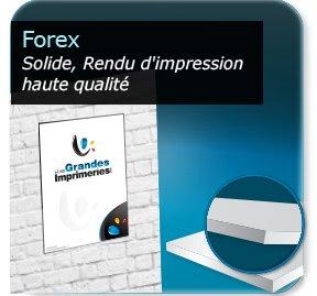 impression Panneaux plastique pvc (Forex)
