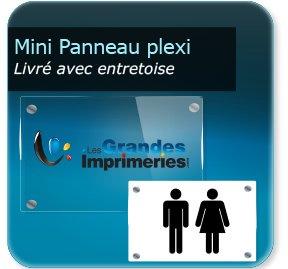 impression Panneaux Panneau signalétique- plexiglass, épaisseur 5 mm
