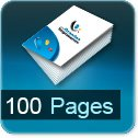 impression brochures pas cher 100 pages