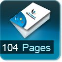 impression brochures pas cher 104 pages