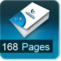 impression brochures pas cher 168 pages