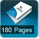 impression brochures pas cher 180 pages