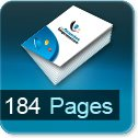 impression brochures pas cher 184 pages