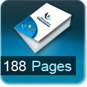 impression brochures pas cher 188 pages
