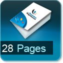 impression brochures pas cher 28 pages