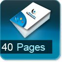 impression brochures pas cher 40 pages