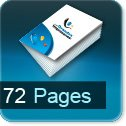 impression brochures pas cher 72 pages