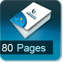 impression brochures pas cher 80 pages
