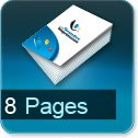 impression brochures pas cher 8 pages