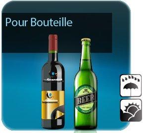 impression Autocollant & Étiquette Etiquettes pour bouteilles