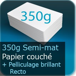 impression marque page plastique transparent 350g mat + pelliculage brillant recto