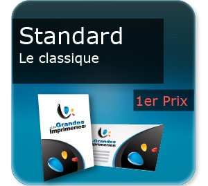 impression composants d un flyer Standard