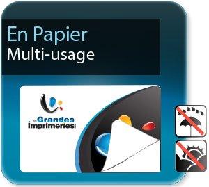 impression Autocollant professionnel & étiquette adhésive Etiquettes multi-usages papier