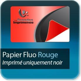 impression Autocollant professionnel & étiquette adhésive Rouge fluo