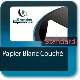 impression Autocollant professionnel & étiquette adhésive standard papier blanc