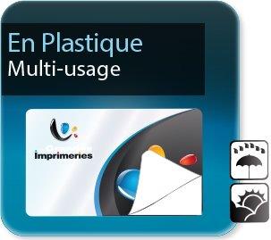 impression Autocollant professionnel & étiquette adhésive Etiquettes multi-usages plastique pvc synthétique sticker
