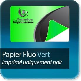 impression Autocollant professionnel & étiquette adhésive Vert fluo