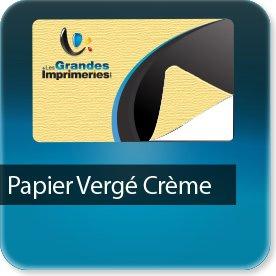 impression Autocollant professionnel & étiquette adhésive Papier Vergé crème