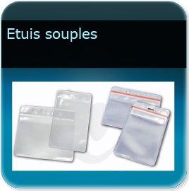 impression Porte badge souple pour badge épaisseur 0,5 ou 0,76mm