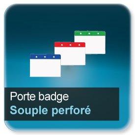 badge porte badge souple pour badge paisseur 0 5 ou 0 76mm impression imprimerie imprimeur. Black Bedroom Furniture Sets. Home Design Ideas