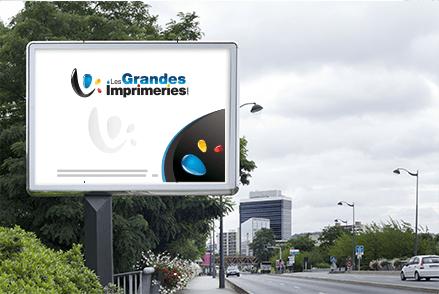 Affiches affiche publicitaire affiches 4 par 3 for Panneau exterieur publicitaire