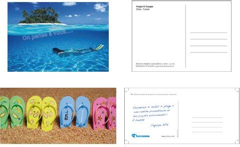 Comment faire et produire des cartes postales ?