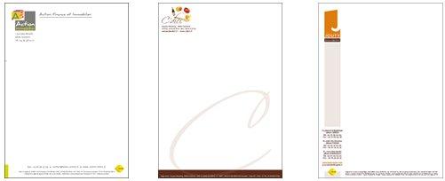 Connu Impression Lettre à en tête en ligne —› Imprimerie et impression  VV64