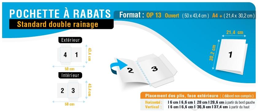 pochette-a-rabats-op13-double-rainage_ouvert-50x43p4_ferme-21p4x30p2