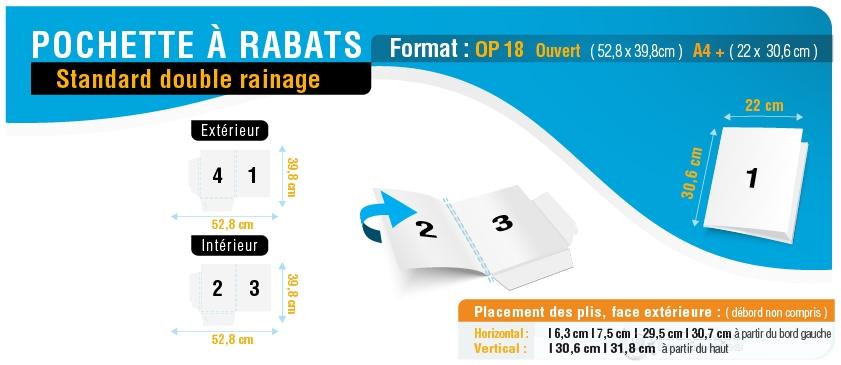 pochette-a-rabats-op18-double-rainage_ouvert-52p8x39p8_ferme-22x30p6