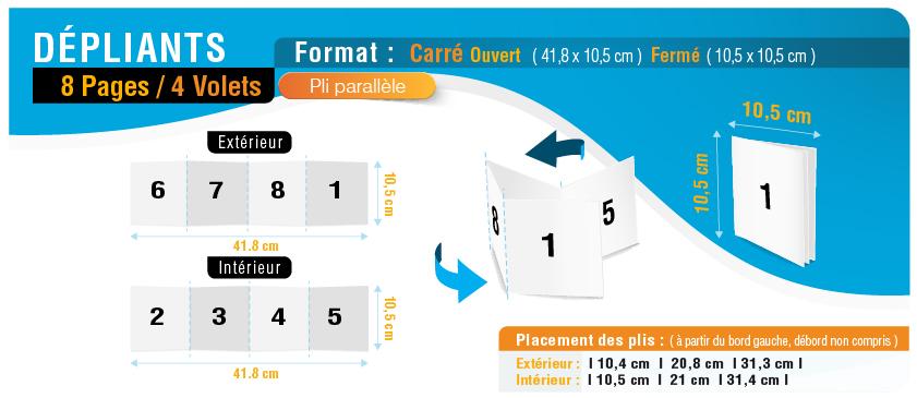 8-pages_4-volets_carre_parallele_ouvert-41,8x10p5cm_ferme-10p5x10p5cm