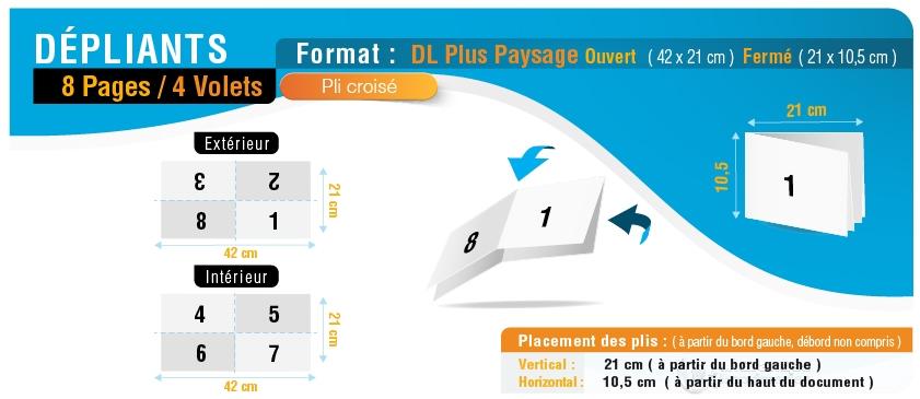 8-pages_4-volets_dlplus-paysage_croise_ouvert-42x21cm_ferme-dlplus-21x10p5cm
